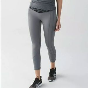Lululemon All The Right Places Battleship leggings